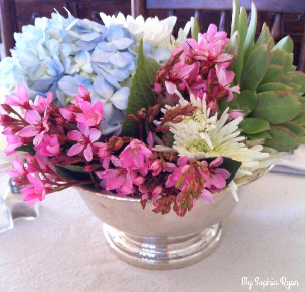 Unfussy Garden Arrangements