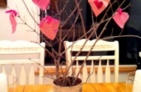 Valentine Ornament Tree