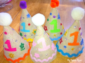 Let's Make Our Own Party Hats