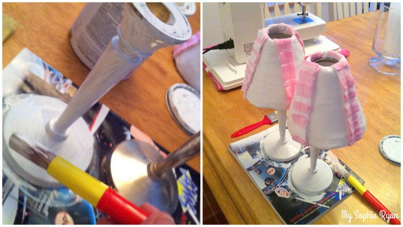 Lampshade Makeover Idea