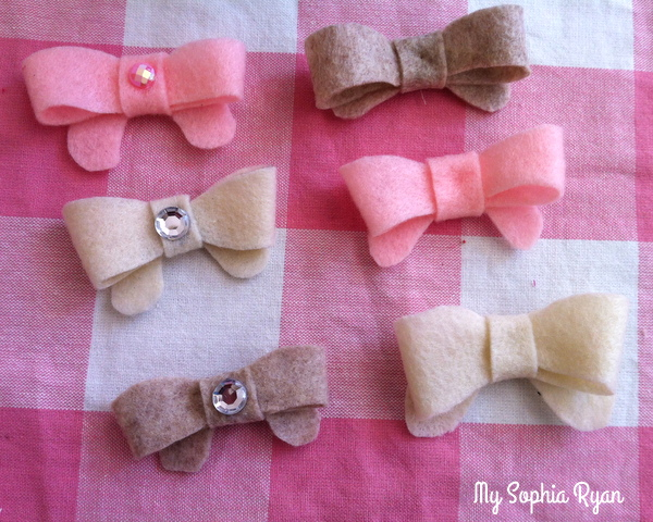 Felt Bows for Baby