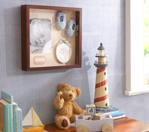 Shadow Boxes and Baby Clothes