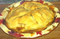Baked Apple Pie