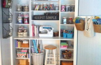 Craft Organization Inspiration