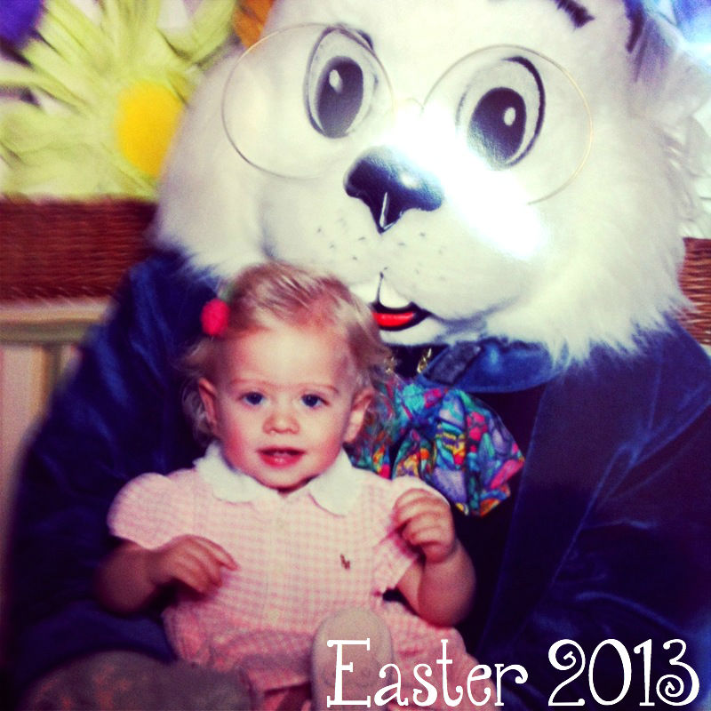 Easter with my Baby