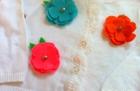 Decorative Felt Flowers