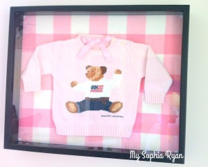 Shadow Boxes & Baby Clothes