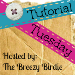 Tutorial Tuesday Button
