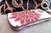 Fabric Covered Diaper Wipe Cases